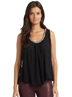 Love Sam - Embellished Tank Top
