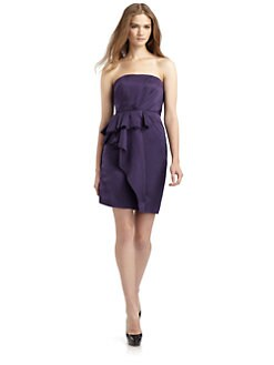 Cynthia Steffe - Elisa Strapless Ruffle Dress