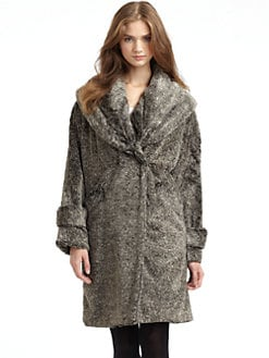 Cynthia Steffe - Carissa Faux Fur Coat