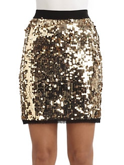 D&G - Paillette Skirt