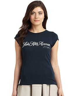 Z Spoke by Zac Posen - Saks Fifth Avenue Cotton Tee