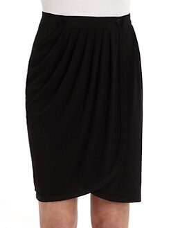 Z Spoke by Zac Posen - Pleated Wrap Skirt