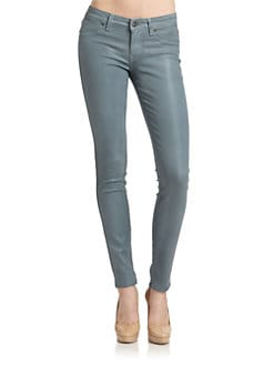 Rich and Skinny - Legacy Coated Skinny Jeans/Blue