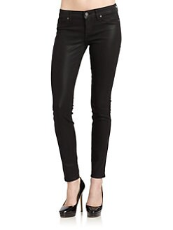 Rich and Skinny - Legacy Coated Skinny Jeans/Black