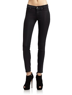 Rich and Skinny - Legacy Coated Skinny Jeans/Owl