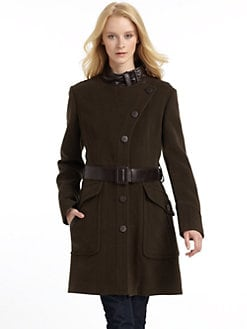 RUDSAK - Hunter Stand Collar Coat/Brown