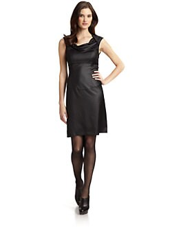 Andrew Marc - Cowlneck Dress