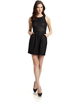 Andrew Marc - Mesh Knit Dress