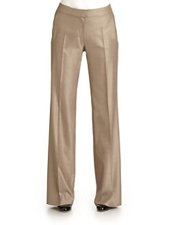 MaxMara - Virgus Long Straight Leg Pants