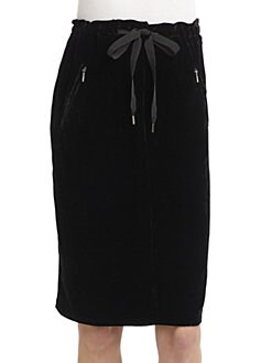 Weekend MaxMara - Girl Velvet Skirt