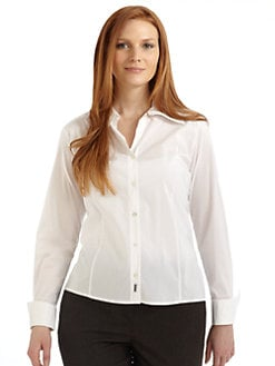 Marina Rinaldi Sport, Salon Z - French-Cuff Shirt