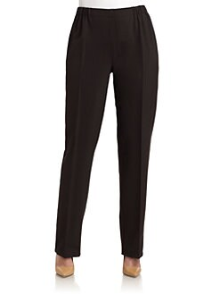 Marina Rinaldi, Salon Z - Barage Straight-Leg Pants