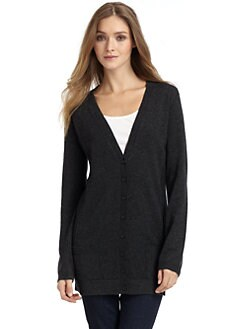 Feel The Piece - Long V-Neck Cardigan