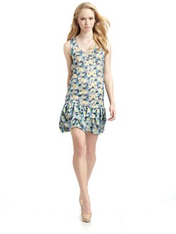 Richard Chai Love - Silk Bubble Hem Dress