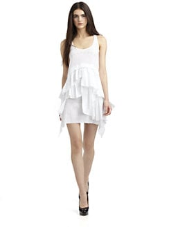 ABS - Tiered Ruffle Dress
