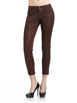 David Kahn - Brenda Skinny Ankle Pants/Brown