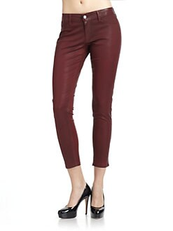 David Kahn - Brenda Skinny Ankle Pants/Red