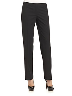 Lafayette 148 New York - Stretch Wool Pant/Black