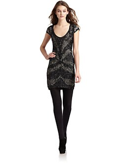 Ambre Babzoe - Sequined Dress/Black