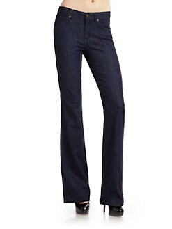 Rich and Skinny - Hi-Rise Flare Stretch Jeans