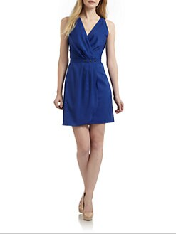 Hunter Dixon - Virginia Pleated Dress/Blue