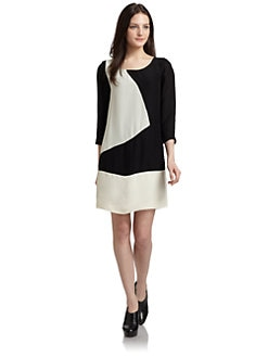 ADDISON - Colorblock Dress