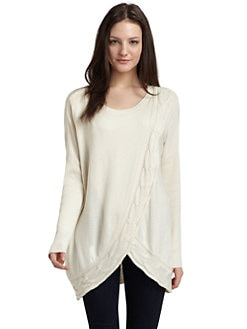 ADDISON - Cable Swing Sweater