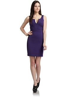 ADDISON - Trapunto Sheath Dress