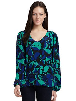 ADDISON - Silk Charm Top