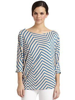 French Connection - Ziggy Jersey Dolman Blouse