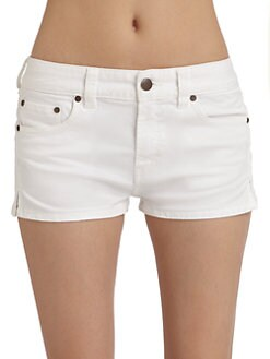 French Connection - Mini Adventures Denim Jean Shorts