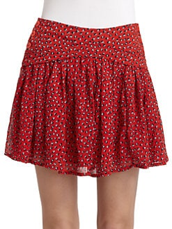 French Connection - Calypso Flower Pleated Skirt