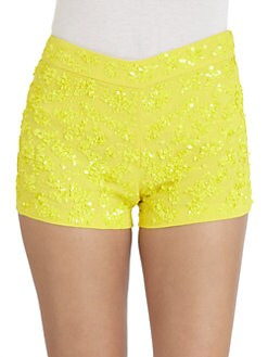 French Connection - Mimosa Mist Sequined Shorts