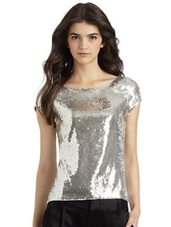 Alice + Olivia - Sequined Top