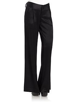 Alice + Olivia - Eric Pleated Trousers/Black