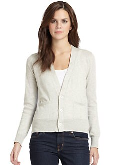 Sjobeck - Boyfriend Cardigan/Natural & Blue