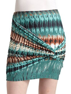 Torn - Twist Mini Skirt