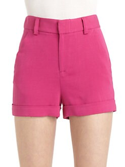 Alice + Olivia - Long Cuffed Shorts