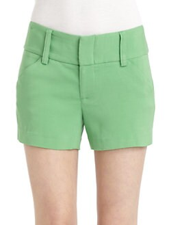 Alice + Olivia - Wide Waistband Shorts