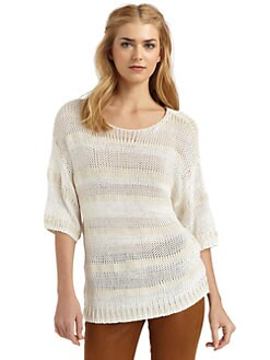 Rachel Zoe - Savannah Striped Sweater