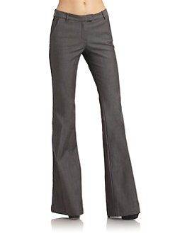 Rachel Zoe - Hutton Bell-Bottom Tuxedo Pants