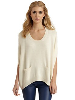 Rachel Zoe - Gigi Wool Cape Sweater