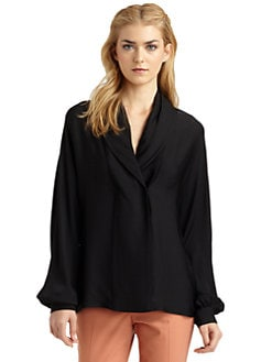 Rachel Zoe - Astor Stretch Silk Blouse