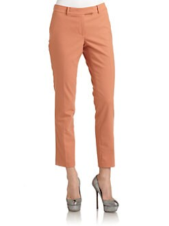 Rachel Zoe - Ian Slim-Leg Twill Pants