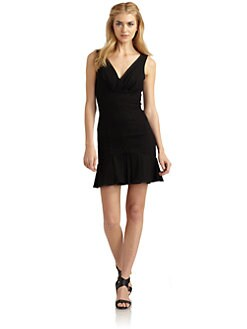 Rachel Zoe - Bridget Pleated Stretch Cotton Dress