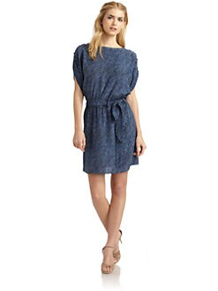 Rachel Zoe - Porter Tie-Waist Silk Dress