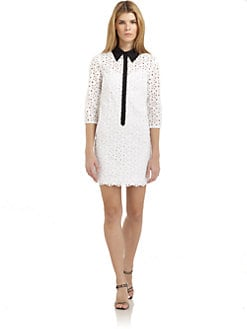 Catherine Malandrino - Eyelet Shirtdress