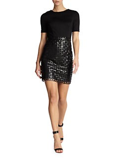 Cynthia Steffe - Amelia Cutout-Detail Dress