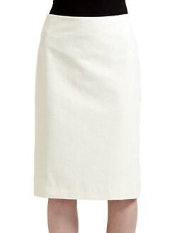 Zenobia - Back-Pleated Skirt