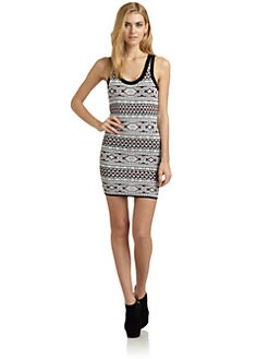 Torn - Sammy Tribal-Print Dress